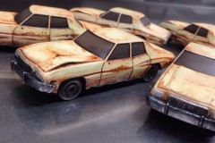 Made the model of the car for the Big Lebowski pinball machine by Dutch Pinball.