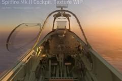 Spitfire Cockpit: Freelance work (Clean)