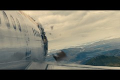 World War Z: Modelling/texturing of the plane damage and details. Texturing of the plane.